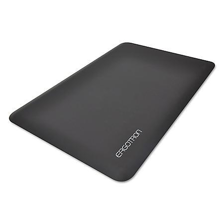 "Ergotron WorkFit 36"" x 24"" Anti-Fatigue Floor Mat, Black"