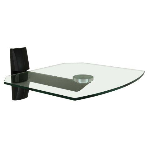 OmniMount Single Glass Wall Shelf - OBECS1