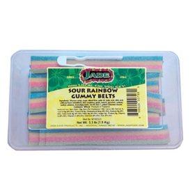 Sour Rainbow Gummy Belts (3.3 lb.)