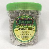 Jade Lemon Strips Jar (16 oz.)