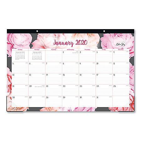 """Blue Sky Joselyn Desk Pad, 17"""" x 11"""", 2020"""