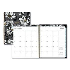 "Blue Sky Baccara Dark CYO Weekly/Monthly Planner, 11"" x 8 1/2"", 2020"