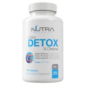 Nutra Botanics Detox Colon Detox & Cleanse (180 capsules)