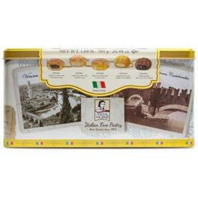 Matilde Vicenzi Italian Pastry and Cookie Tin (24.64 oz.)