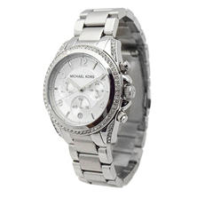 Women's Blair Silver-Tone Stainless Steel Watch by Michael Kors