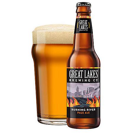 Great Lakes Burning River Pale Ale (12 fl. oz. bottle, 6 pk.)