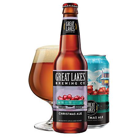 Great Lakes Christmas Ale (12 fl. oz. bottle, 24 pk.)