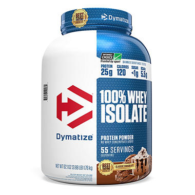 Dymatize 100% Whey Protein Isolate Powder