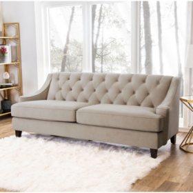 Montaque Tufted Velvet Sofa (Assorted Colors)