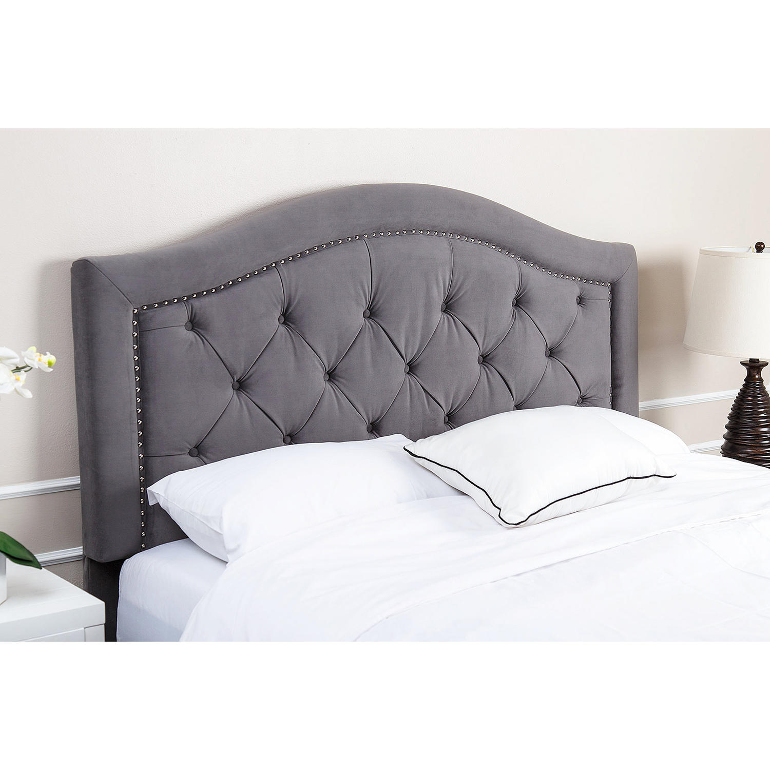 Abbyson Living Sullivan Velvet Upholstered Headboard (Assorted Options)