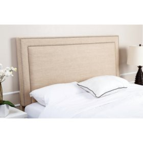 Lafayette Upholstered Headboard, Queen/Full (Choose Size)