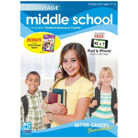 Encore - Middle School Advantage w/ Math Advantage - PC/Mac