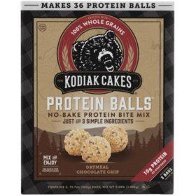 Kodiak Cakes Protein Balls, Oatmeal Chocolate Chip (12.7 oz., 3 pk.)