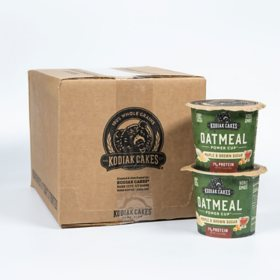 Kodiak Cakes Oatmeal Cups, Maple and Brown Sugar (12 pk.)