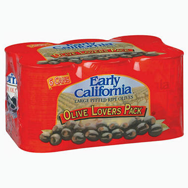 Early California Olive Lovers Pack - 6/6oz