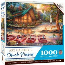 Art Gallery of Chuck Pinson 1,000-Piece Puzzle