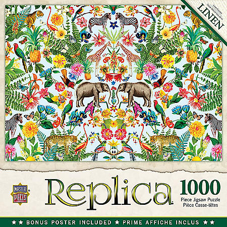 Replica Safari Puzzle