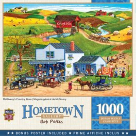 Hometown Gallery McGiveny's Country Store Puzzle