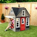 KidKraft Stonewood Outdoor Playhouse