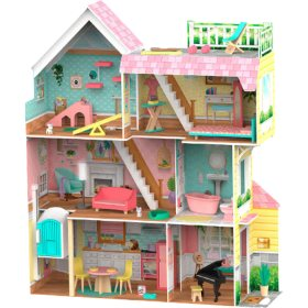 KidKraft Mia's Mansion Pet Loft Dollhouse