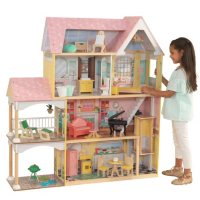 KidKraft Lola Mansion 4-ft Dollhouse 65978 Deals