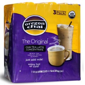 Oregon Chai Tea Latte Concentrate (96 oz.)