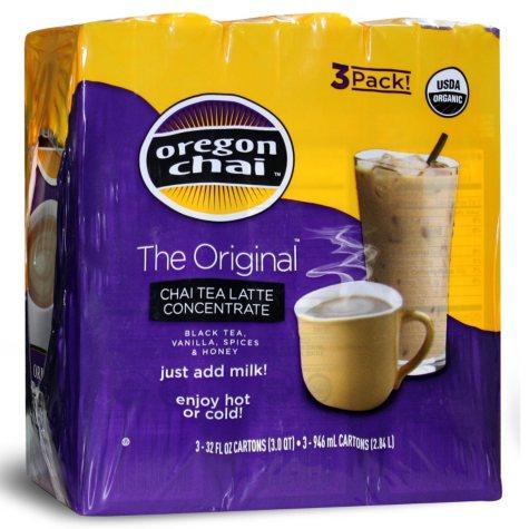 Oregon Chai Tea Latte Concentrate - 96 fl. ozs.