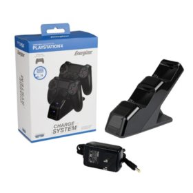 Energizer PS4 Controller Charging Station for Two Wireless Controllers