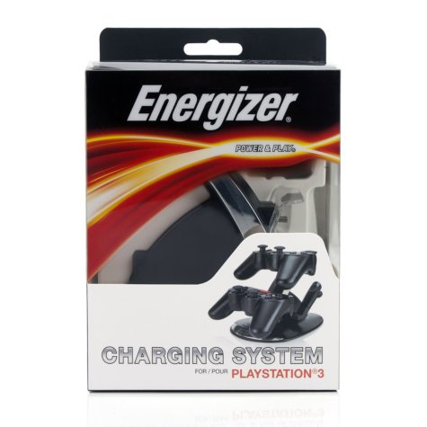 Energizer Power & Play Charging System for the PS3