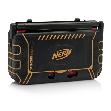 Orange Nerf XL Armour for the 3DS