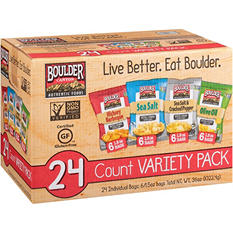 Boulder Canyon Kettle Cooked Potato Chips Variety Pack (1.5 oz., 24 ct.)