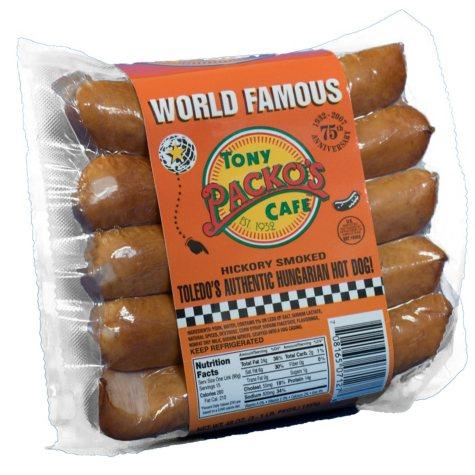 Tony Packo's Cafe Hungarian Hot Dogs - 1 lb. - 3 pk.