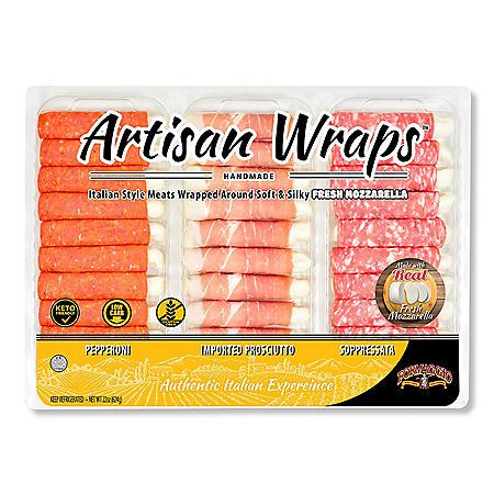 Formaggio Artisan Wrap Variety Tray (22 oz.)