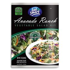 Eat Smart Avocado Ranch Vegetable Salad Kit (12 oz.)