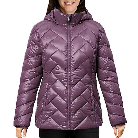 London Fog Women's Packable Down Jacket
