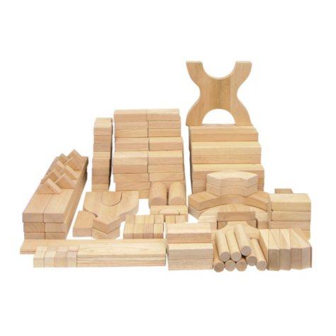 Hardwood Unit Blocks - 170 pc.