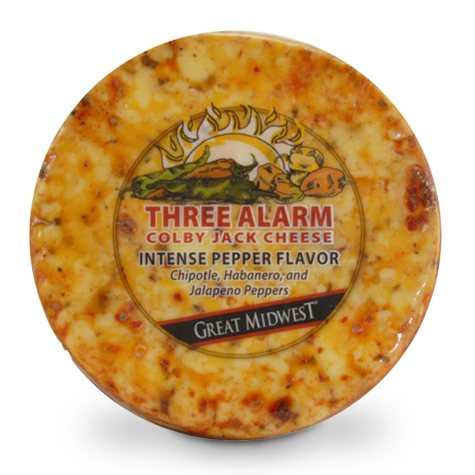 Three Alarm Colby Jack Cheese - 1.5 lbs.