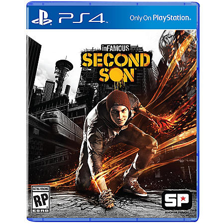 PS4 INFAMOUS 2ND SON