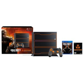 Limited Edition Ps4 1tb Bundle With Call Of Duty Black Ops Iii