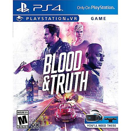 Blood & Truth VR - PVR