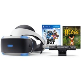 PlayStation®VR ASTRO BOT Rescue Mission + Moss Bundle