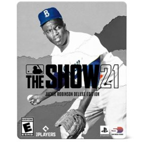 MLB The Show 21: Jackie Robinson Deluxe Edition - PlayStation 4