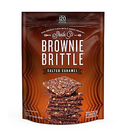 Brownie Brittle Sea Salted Caramel (16 oz.)