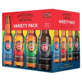 Highland Brewing IPA Variety Pack (12 fl. oz. can, 12 pk.)