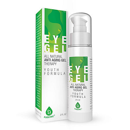 Pursonic All Natural Youth Formula Professional Anti-Aging Eye Gel Therapy (2 oz.)