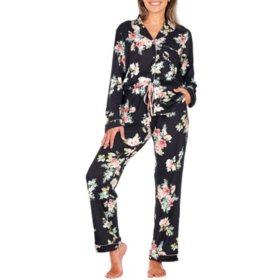 Flora 2-Piece Notch Collar PJ Set