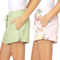 Flora Ladies 2 Pack Sleep Shorts