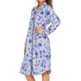 Flora by Flora Nikrooz Ladies Notch Collar Sleep Shirt With Pockets