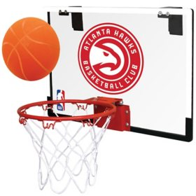 Rawlings Official NBA Polycarbonate Indoor Basketball Hoop Set