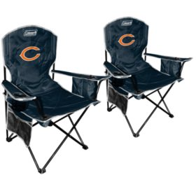 Magnificent Nfl Chicago Bears Cooler Quad Chair 2 Pack Sams Club Ocoug Best Dining Table And Chair Ideas Images Ocougorg